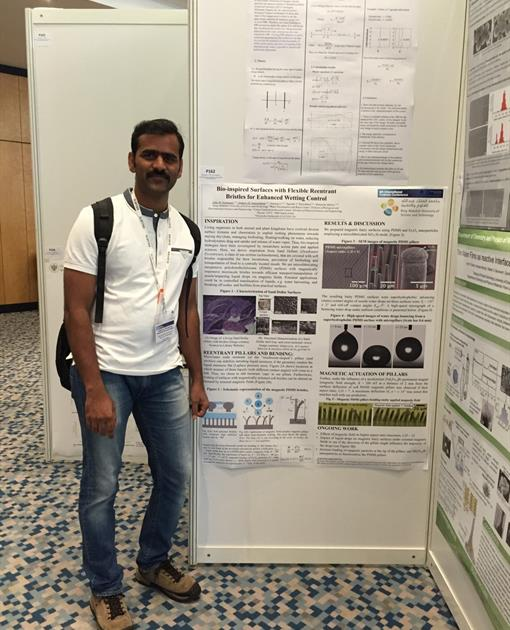 Sankara at the 6th Colloids Conference in Berlin